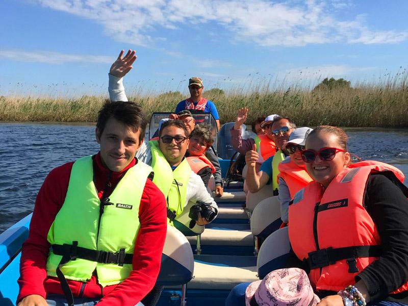 Delta Dunarii - Turisti