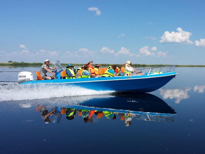 Delta Dunarii - All Inclusive - Barca